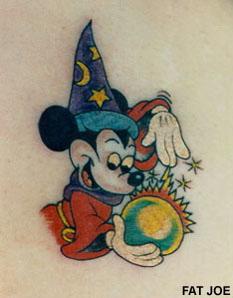 cartoon tattoo ideas