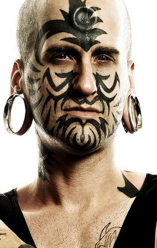 face tattoo ideas