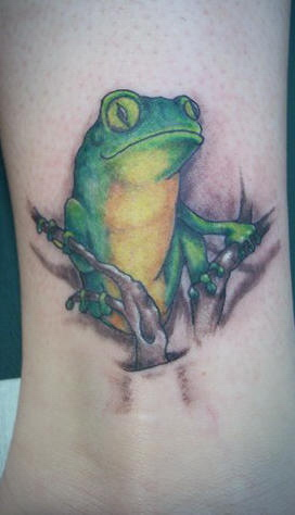 Frog tattoo ideas