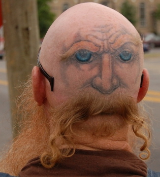head tattoo ideas